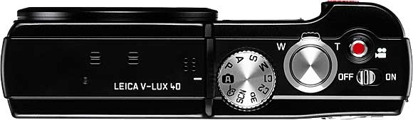 Leica V-Lux 40 Top View