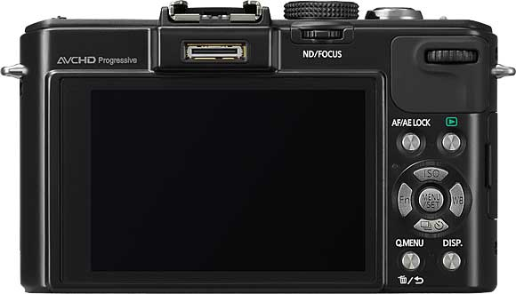Panasonic Lumix DMC-LX7 Back View