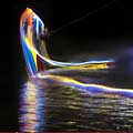 Light Painting With A Wakeboard