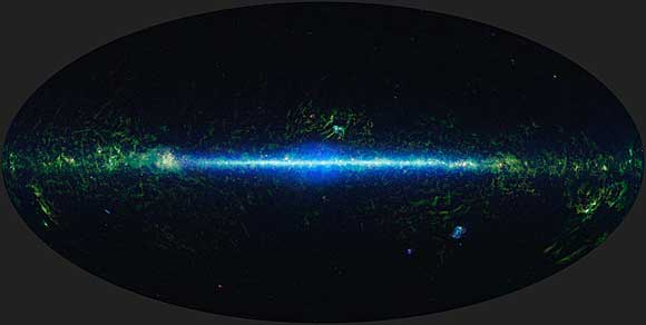 Mapping the Infrared Universe: The Entire WISE Sky - courtesy NASA/JPL-Caltech/UCLA
