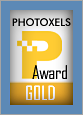 Photoxels Gold Award - DSLR