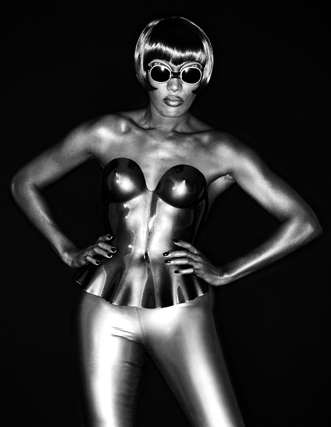 "©Greg Gorman: ""Grace Jones"""
