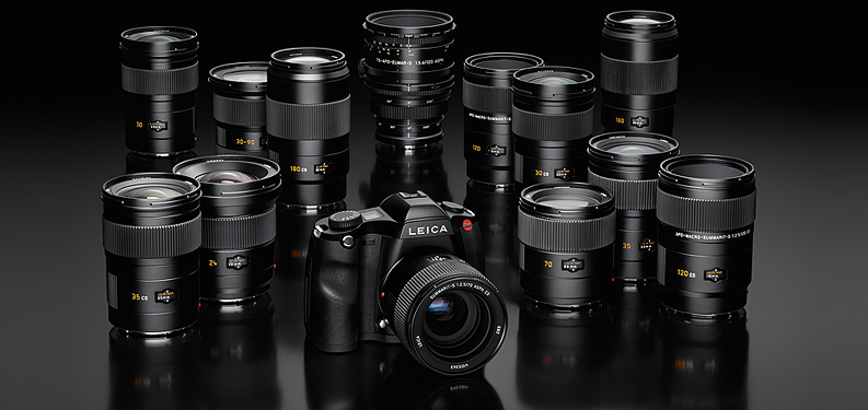The complete Leica S-System