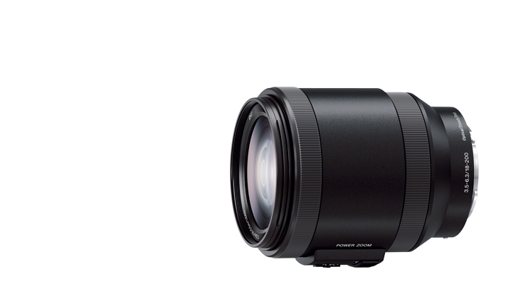 Sony 18-200mm F3.5-6.3 OSS Powered Telephoto Zoom Lens (model SELP18200)