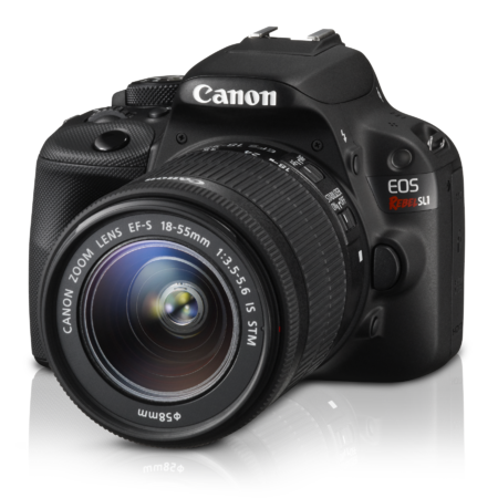 Canon Canada Announces New Eos Rebel Sl1 Digital Slr Camera World S Smallest And Lightest Dslr