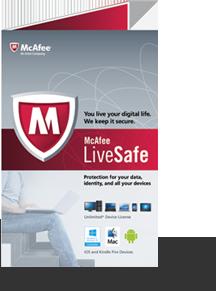 McAfee® LiveSafeTM service