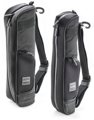 Gitzo Traveler Tripod Bags (left to right): GC2202T and GC1202T.