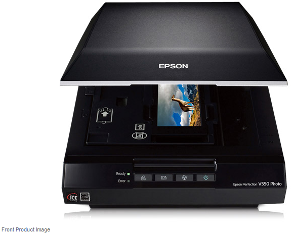 Epson Perfection V550 Photo Colour Scanner