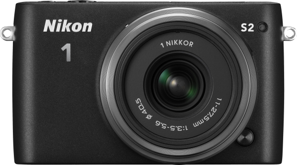 Nikon 1 S2 kitted with the 1 NIKKOR 11-27.5mm f/3.5-5.6 lens