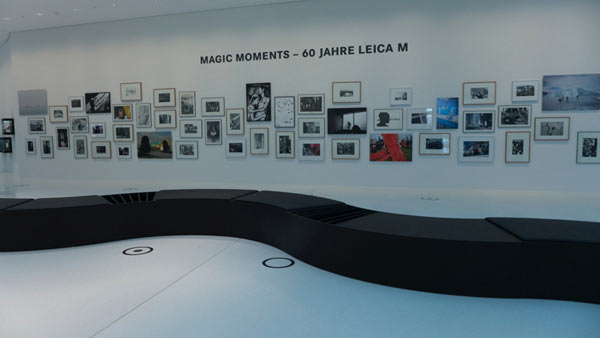 Magic Moments – 60 Jahre Leica M ('60 years of the Leica M') exhibition. Image by Leica.