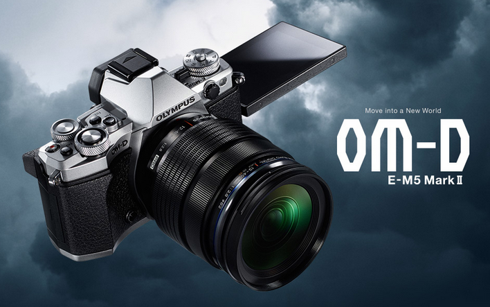 "Olympus OM-D E-M5 Mark II: ""Move into a New World"""