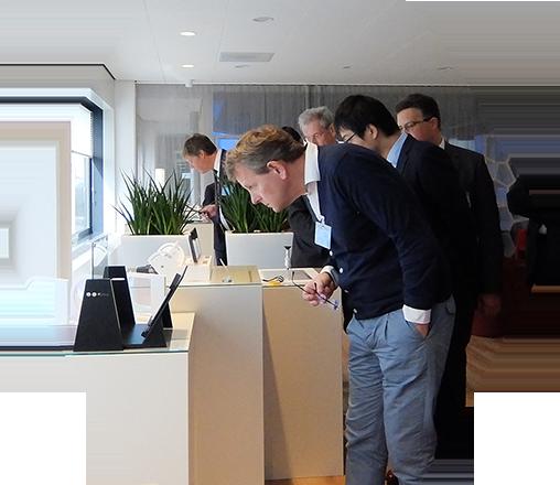 Fujifilm Europe's Open Innovation Hub: Touch. Image Courtesy of Fujifilm