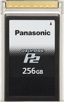 "Panasonic ""expressP2 card"" (256 GB model): Memory Card AU-XP0256AG"