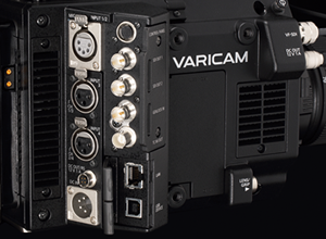 Panasonic VariCam LT: Rear Side Connectors