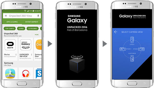 "Watching ""Galaxy Unpacked"" on Mobile"