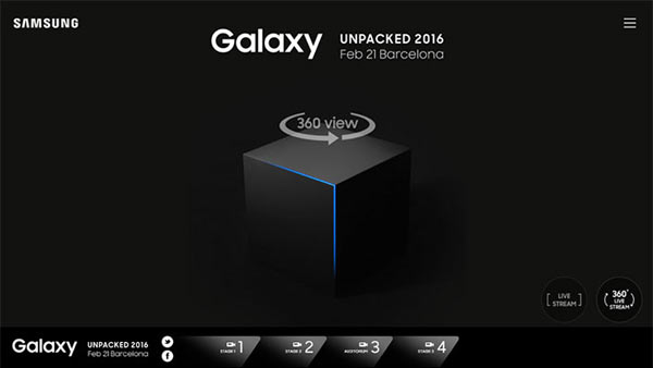 "Watching ""Galaxy Unpacked"" on the PC"
