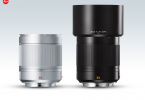 Leica Summilux-TL 35 mm f/1.4 ASPH. lens: silver (left), black - with lens hood (right)