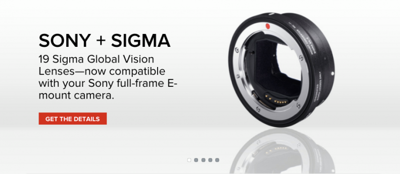 Sigma Mount Converter MC-11 for Sony E-Mount, Full Frame and APS-C ...