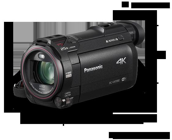 Panasonic's 4K Ultra HD Camcorder HC-VXF990