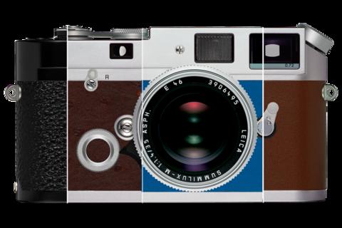 Leica M Analogue à la carte: leather trim options
