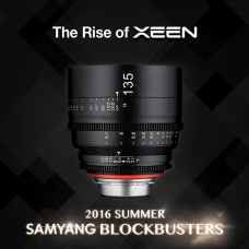 Samyang Announces XEEN 135mm T2.2 Professional 4K+ Video-Cinema Lens