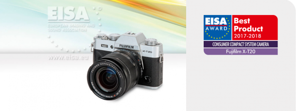EISA Awards: Fujifilm X-T20 Wins Consumer Compact System Camera 2017-2018