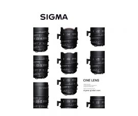 "SIGMA's New Line of SIGMA CINE LENS Has Won the Prestigious ""Good Design Award"""