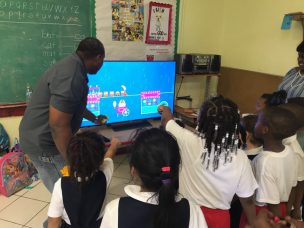 Sony + PBS Member Station WTJX: Donating BRAVIA® 4K Smart TVs  to Hurricane-Impacted Children in Head Start Centers and Preschools in the U.S. Virgin Islands