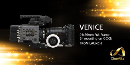 Sony VENICE Full-Frame Digital Motion Picture Camera System: 36x24mm Full-Frame Image Sensor; Supports 24x36mm Full-Frame 6K Recording; Compatibility with a Wide Range of Lenses; Ultra Wide Color Gamut; Film Industry's First Camera with a Built-in 8-Stage Glass ND Filter System