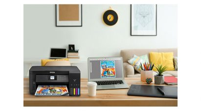 "Epson Canada Presents ""The perfect gift for the busy family: The Expression ET-2750 EcoTank All-in-One Supertank Printer"""