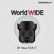 Samyang (Rokinon) AF 14mm F2.8 EF is the First Autofocus Lens for Canon Cameras: Lightweight, Fast AF, High Resolution, Weather-Sealing, Built-In AF/MF Switch