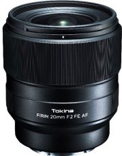 Tokina: FíRIN 20mm F2 FE AF is a Prime Lens for Full-Frame Sony E-Mount