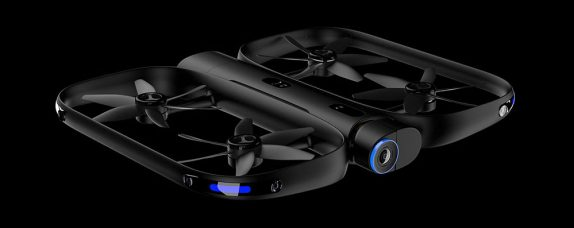 Skydio R1 is the first Autonomous Selfie Drone, tracks and films a subject while freely navigating any environment