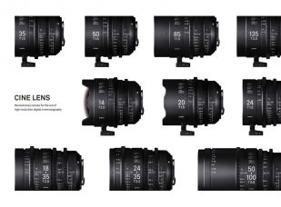 The Sigma Cine Lens Series Won the Prestigious iF DESIGN AWARD 2018