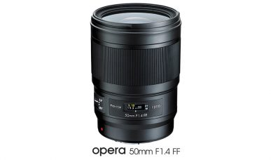 Tokina: opera 50mm F1.4 FF is a Premium Full-Frame Lens for High-End DSLR Cameras of Nikon & Canon: Dust and Moisture Sealing; Nikon Mount Model Has an Electric Diaphragm Mechanism