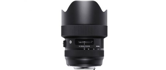 SIGMA 14-24mm F2.8 DG HSM Art is a Wide-Aperture Ultra-Wide-Angle Zoom Lens with Dust- and Splash-Proof Construction with Weather Sealing, for 50-Megapixel Plus Cameras: Pricing & Availability; New Front Conversion Service
