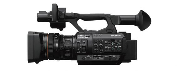 Sony PXW-Z280 Handheld Camcorder with World's First 1/2-Type 3 CMOS Sensors for Broadcast 4K: 4K 50p/60p, 4:2:2 10Bit, HDR Capabilities, Advanced Face Detection AF, 12G-SDI Enables 4K 50p/60p Transfer Via Only One BNC Cable, Supports Direct-to-Air Broadcasting with Advanced Network Features