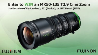 "Fujifilm Invites Both NAB Show Attendees & Non-Attendees to Enter Now the ""FUJINON MK50-135 T2.9 Zoom NAB Giveaway""; Professional Fujinon Lenses' Speaker Series @ NAB 2018 in Las Vegas, USA, April 9-11"