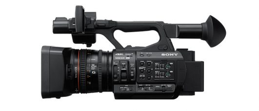 "Sony PXW-Z190 XDCAM is the World's First Professional Handheld Compact Camcorder with a 4K (QFHD: 3840 x 2160 Pixels) 1/3-Inch Type 3CMOS Sensor: 4:2:2 10-Bit, 4K 50p/60p Recording, 25x Zoom Lens, Instant HDR Workflow, Three Independent Lens Rings, Dual MI Shoe, Dual SD Slots, 3G-SDI Output, Advanced Face Detection AF Includes New ""Face Only"" AF for Shooting Interviews or Lectures"