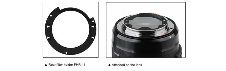 Sigma Will Provide a Chargeable Installation Service of the Rear Filter Holder FHR-11 for Sigma 14-24mm F2.8 DG HSM | Art (for Canon) and 14mm F1.8 DG HSM | Art (for Canon)