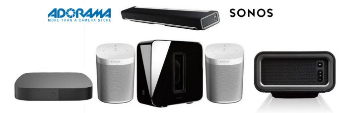 Adorama Special Bundles: Sonos Soundbars and Speakers