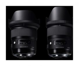 SIGMA's New Large Aperture Wide-Angle Lenses​​ for Sony E-Mount: 24mm F1.4 DG HSM Art – For Nightscapes, Cityscapes & Lowlight/Indoor Photography; 35mm F1.4 DG HSM Art for Creative/ Artistic Photographers: Optimizes AF Drive, Maximizes Data Transmission Speed, Compatible with Sony's Continuous AF