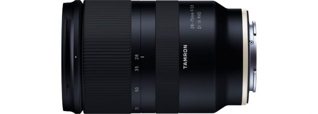 Advisory Regarding Tamron 28-75mm f/2.8 Di III RXD (Model A036) Lens' Operation for Sony E-Mount, 35mm Full-Frame Mirrorless Cameras
