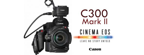 Canon EOS C300 Mark II / EOS C300 Mark II PL Firmware Update Version 1.1.1.1.00 (Apr 5, 2018): Improvements and Auto IRIS Support for Certain Lenses