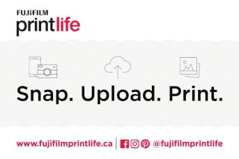 FUJIFILM Canada Launches Fujifilm Print Life Movement and the New Fujifilm Print Life Website: Now Offering Various Ways to Print, Create and Share Your Photographs