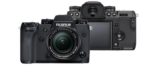 Fujifilm X-H1 Firmware Update Ver.1.10 (June 13, 2018):  New Functions, Compatibilities With FUJINON Cinema Lenses MKX18-55mmT2.9 and MKX50-135mmT2.9, and Improvements