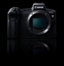 Canon EOS R Full-Frame Mirrorless Camera Features 30.3MP Resolution, New RF Mount, Dual Pixel CMOS AF with 5,655 Manually Selectable AF Points, 8 fps Continuous Shooting, 3.69M-dots EVF, 4K/30p UHD Video, 0.I.S., Multi-Function Bar, Dust- and Weather-Resistant