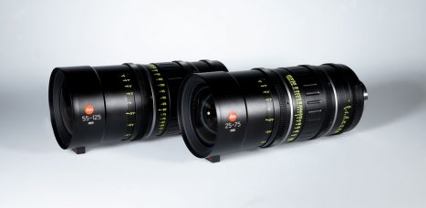 Leitz is Developing a Set of 12 Leitz Cine Prime Lenses of Ranges from 18 mm to 180 mm with a T1.8 Aperture and Leitz Cine Zoom Lenses 25-75 mm and 55-125 mm Featuring a T2.8 Aperture: For Full Frame/VistaVision Coverage