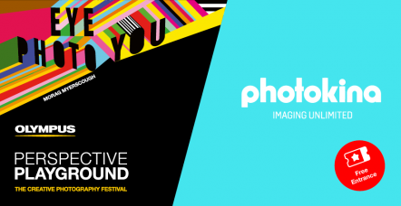 Olympus Perspective Playground, an Art Exhibition with Interactive and Walk-In Installations, at photokina 2018, 26-29 September, in Cologne, Germany: Get Your photokina Day Ticket at No Cost by Registering for Your Playground Visit & Subscribing to Olympus Newsletter