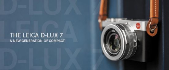 Leica D-Lux 7 Compact Camera: Fast F1.7 3x Optical Zoom Lens, Four Thirds Sensor, Electronic Viewfinder, LCD Touchscreen, 4K Video Recording, Integrated Bluetooth and WiFi with Leica FOTOS App Connectivity